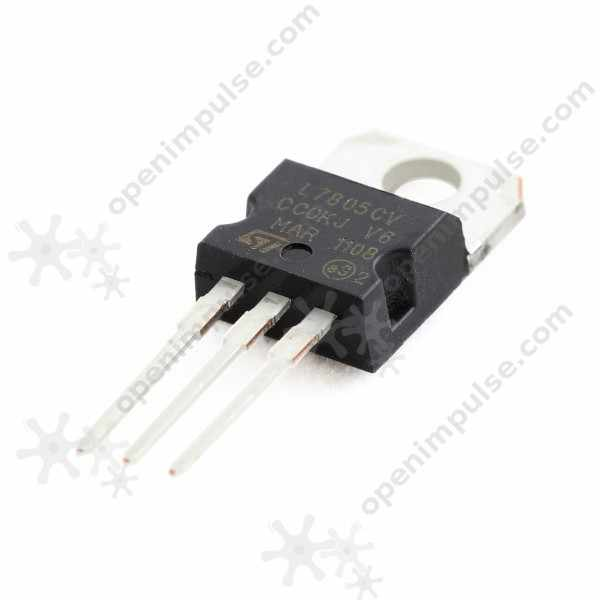 10 piezas L7805 5 V regulador lineal de tensión (220)