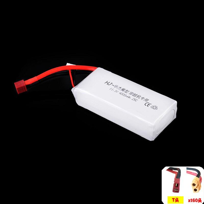 1pcs font b RC b font Li Polymer Lipo Battery 11 1V 4000MAH 25C max 40C