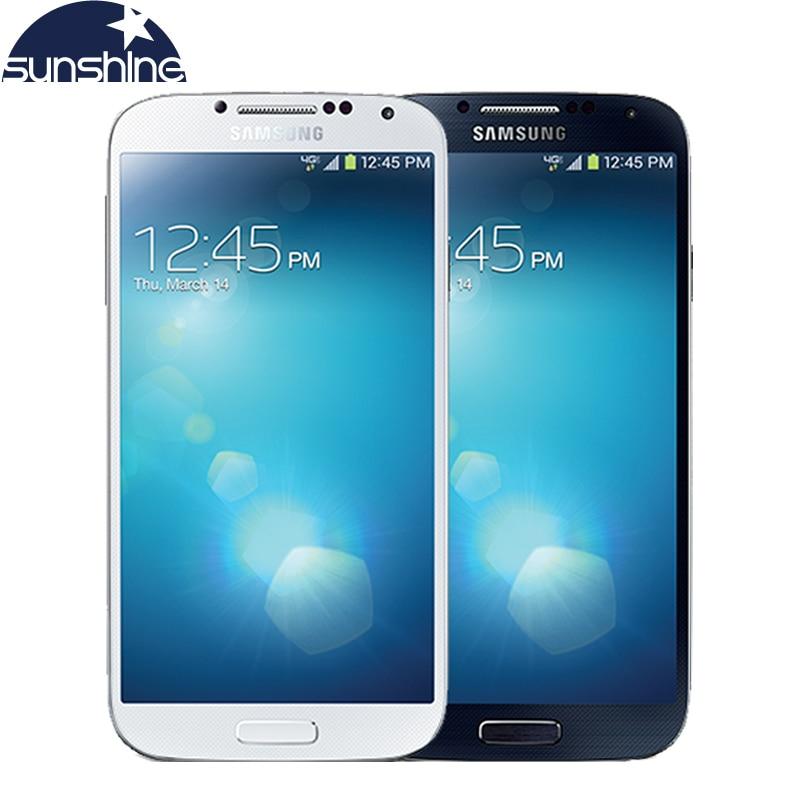 Original Samsung Galaxy S4 I9500 I9505 Cell Phone Quad Core 3G 4G 13MP 5 0 2G
