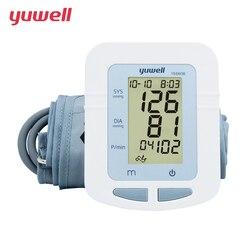 YUWELL Arm Blood Pressure Monitor Portable Digital LCD Medical Equipment Sphygmomanometer Large Cuff Blood Pressure Meter 660B