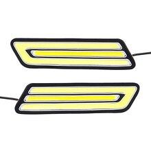 1 пара Водонепроницаемый удара поворотов Лампы для мотоциклов заднего хода ВОДИТЬ Автомобиль DRL гибким противотуманные лампа автомобиль-Стайлинг днем Бег свет
