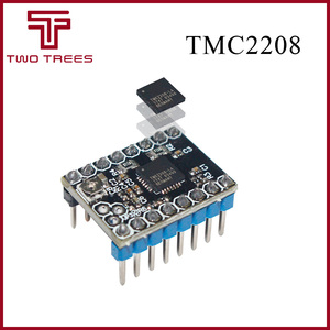 1pcs TMC2208 Stepping Motor Mute Driver Stepstick replace TMC2100 Driver with CD-20 Ceramic screwdriver for 3D printer(China)