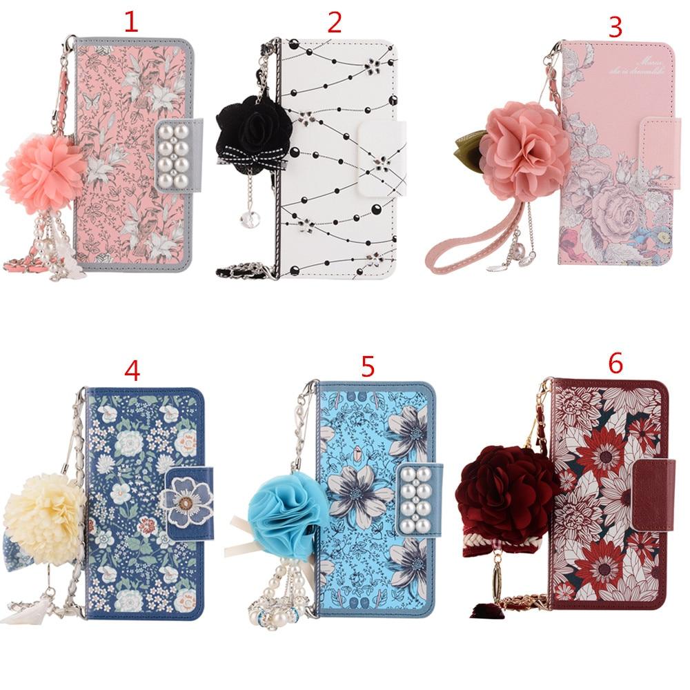 chain-handbag-jasmine-rose-crystal-sun-flower-leather-flip-card-wallet-case-cover-for-samsung-galaxy