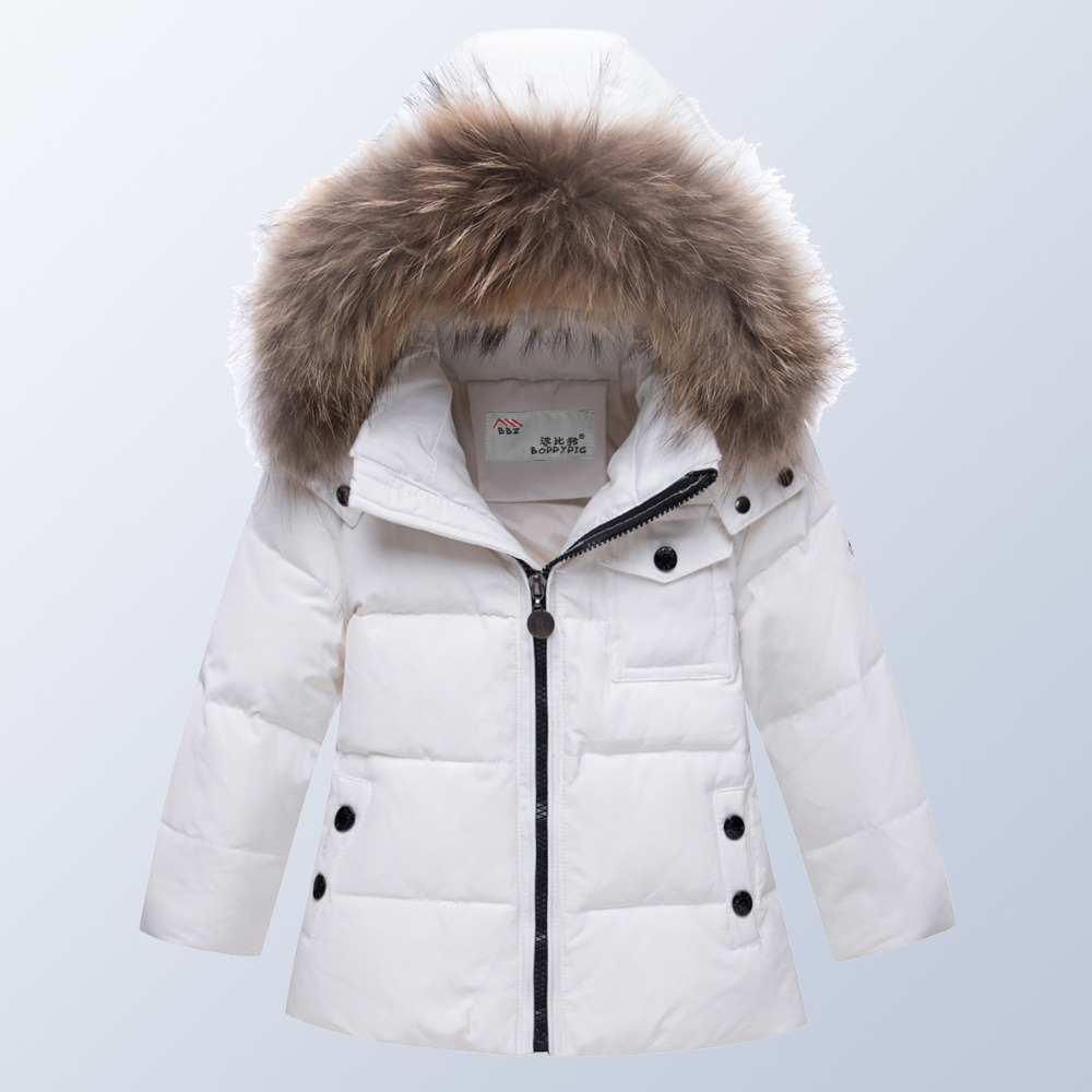 Boys Girls Winter Jackets with Fur Warm Long Thick Fashion Childrens Kids Winter Jacket for Teenage Clothing 8 10 12 14 Year