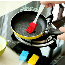 Silicone Baking BBQ Bakeware Cake Pastry Bread Oil Cream Cooking Basting Brush 1Pcs