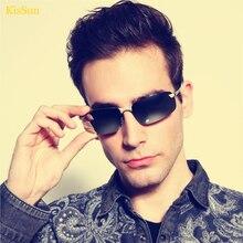 2016 Black G ray Cheap Men Sunglasses Women Polarized Retro Outdoor Driving Fishing Sun Glasses With Original KisSun Brand Logo