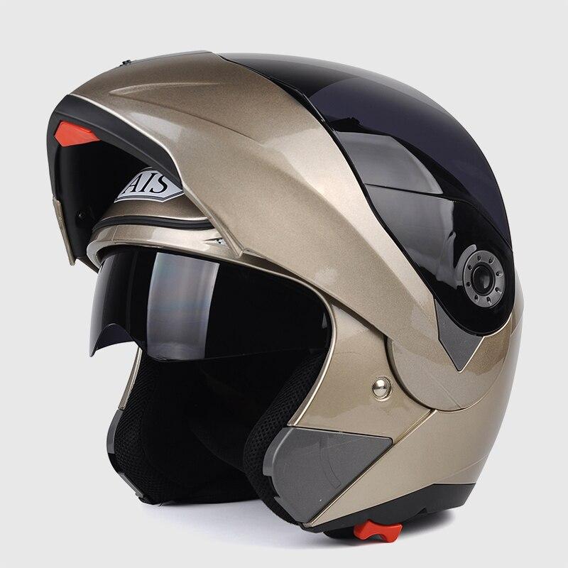 2019 New DOT Sticker Flip Up Modular Helmet Dual Lens Racing Motocicleta Casco Men s Women