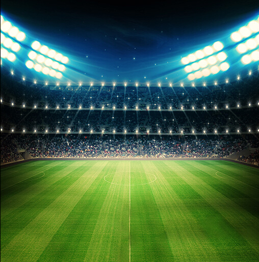 Floodlit Football Pitch 5x7ft Photography Background