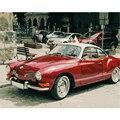 Картина по номерам «сделай сам», Прямая поставка, 40x50, 60x75 см, красная машина, классические автомобили, натюрморт, холст, свадебное украшение, ...