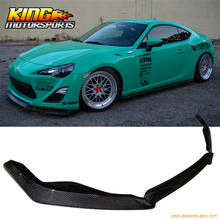 Fit For 2013-2016 FRS FR-S GT86 HT Style Front Bumper Lip – Carbon Fiber CF