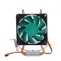 CPU Cooler Fan Double Heatpipe Radiator For Intel LGA 775 115x AMD 754 940 AM2 AM3