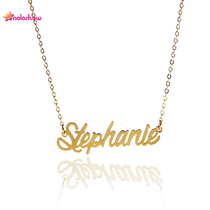 collier prenom stephanie