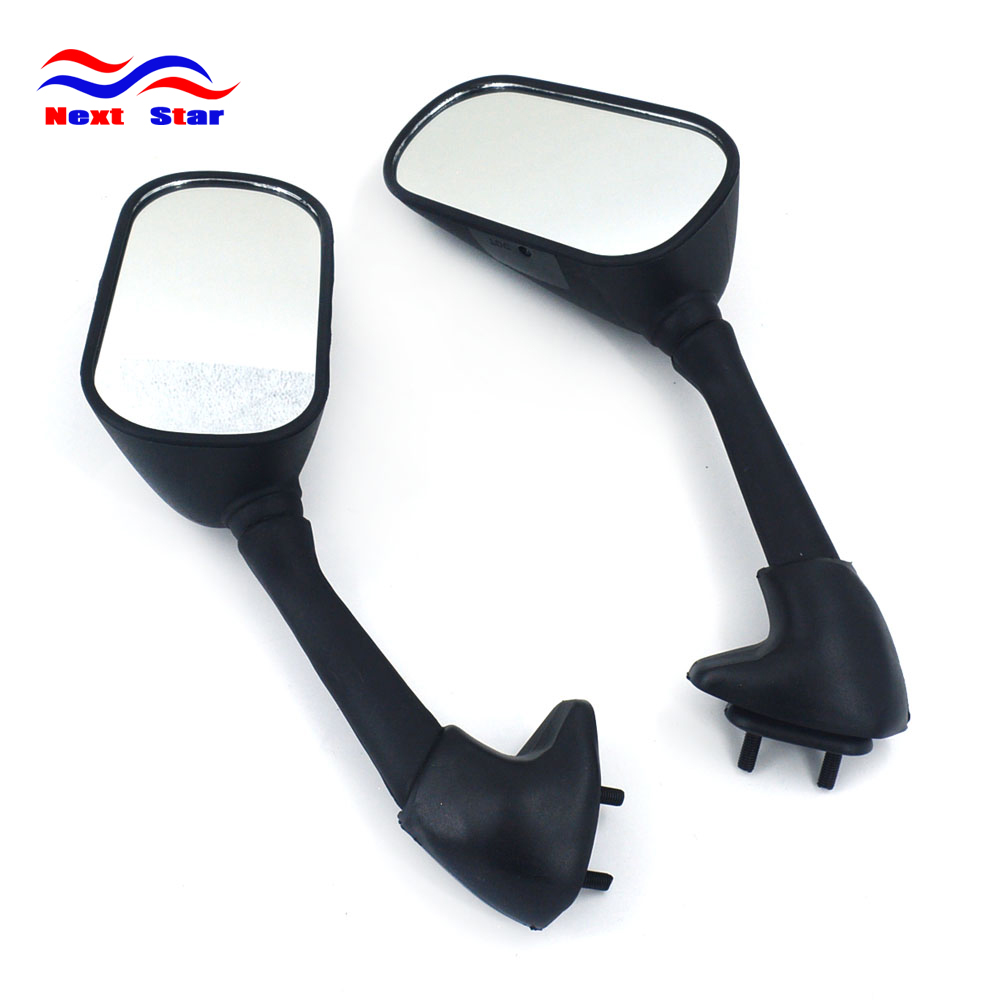 Motocross Parts Motorbike Rear View Mirrors Motorcycle Side Mirror <font><b>Moto</b></font> Rearview For YAMAHA <font><b>YZF</b></font> <font><b>R1</b></font> 2002 2003 2004 <font><b>2005</b></font> 2006 image