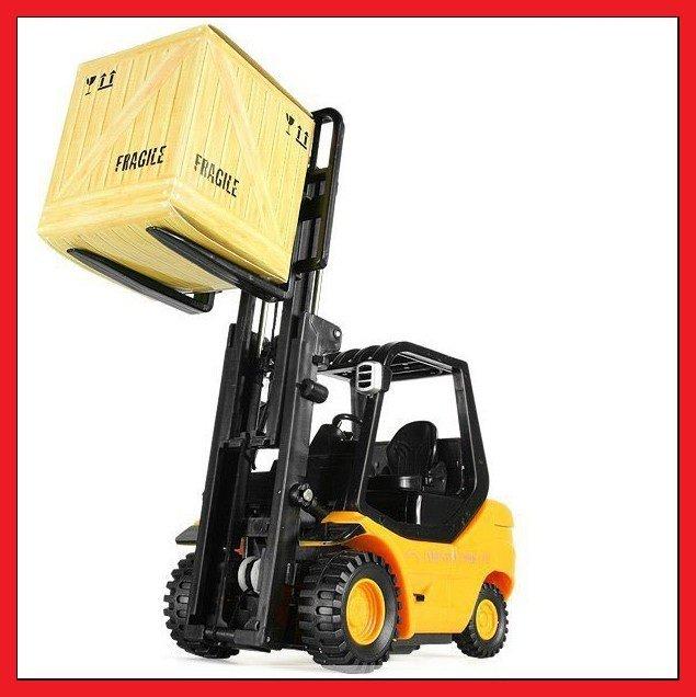 Hot Sale! 1PCS Desktop Crane Remote Control Cars Remote Control Forklift engineering truck REMOTE CONTROL MINI FORKLIFT 106