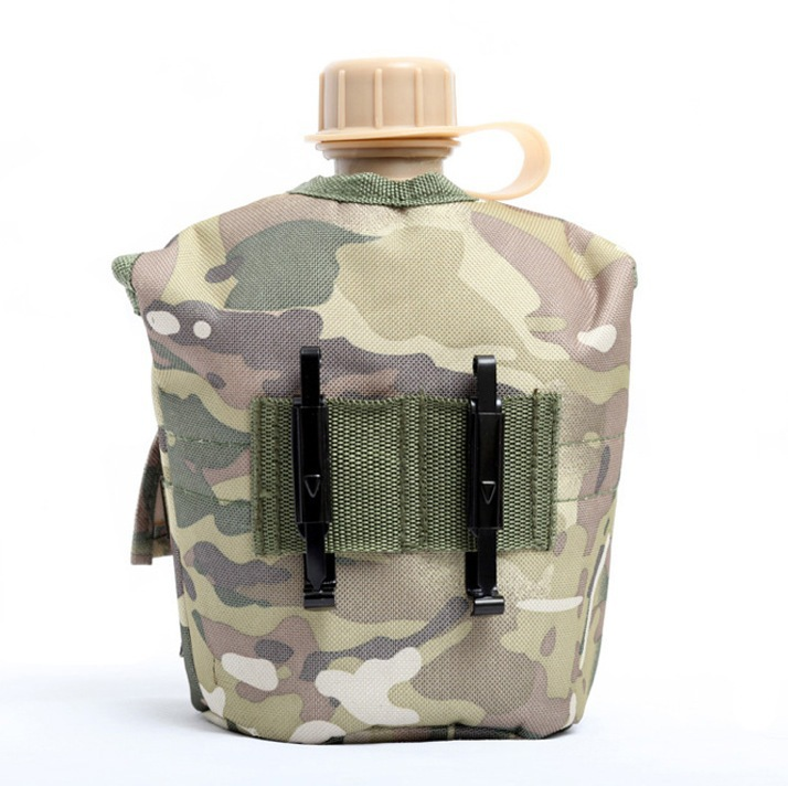 H487 Free shipping US military an elevated outdoor kettle+ aluminum boxes + molecular kettle Insulation jacket