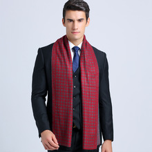 Winter Brand Cotton Soft Scarves For Men Casual Tartan Business Scarf Acne Studios Scarves YJWD334