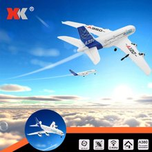 Wltoys RC Vliegtuig XK A120 Airbus A380 Model Vliegtuig 3CH EPP 2.4G Afstandsbediening Vliegtuig Fixed-wing RTF speelgoed Vliegtuig Dron(China)