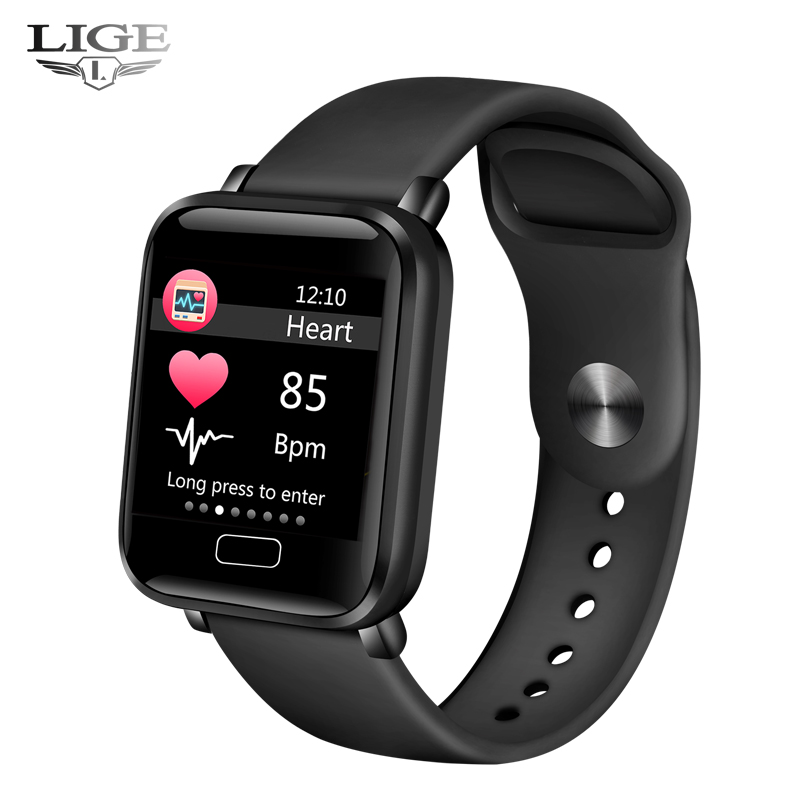 LIGE Smart Watch for Android Phones and iPhones Waterproof Smartwatch Activity Fitness Tracker for Women and Men