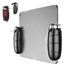 PUBG Mobie Controller Gamepad für Ipad Tablet Trigger Feuer Taste Ziel Key Mobilen Spiele Grip Griff L1R1 Ziel Shooter Joystick