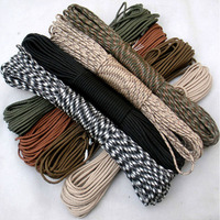 108 Colors 100M Paracord 550 Paracord Parachute Cord Lanyard Rope Mil Spec Type III 7Strand Climbing