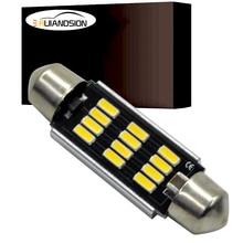 4014 led Festoon Light C10W CANBUS NO Error car auto truck Styling Ac Dc 12-24v 39mm 41mm 42mm Interior Dome Lamp Reading Bulb