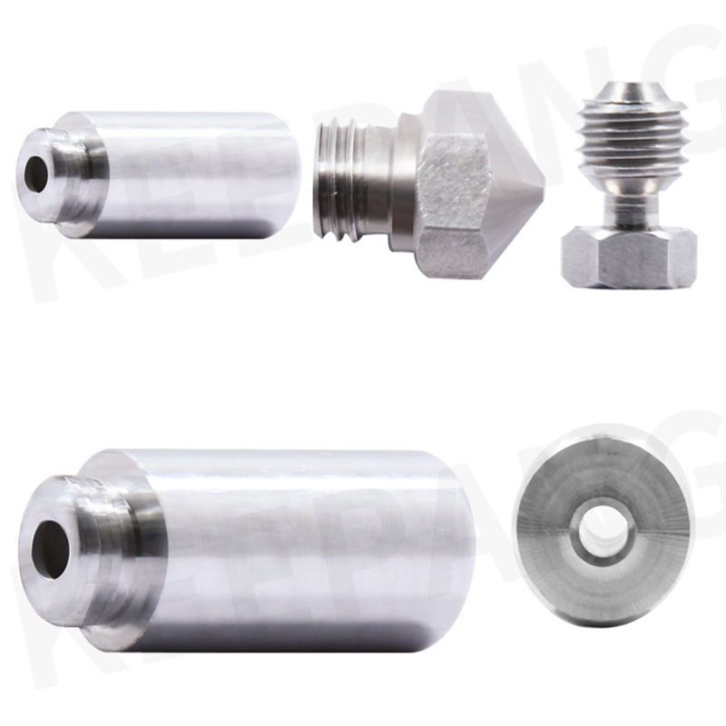 Kee Pang MK10 Full Metal Hotend Conversion Kit 1.75 Filament Nozzle Throat 3D Printer Parts & Accessories Wholesale