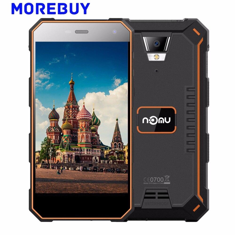 NOMU S10 Pro IP69 Waterproof Smartphone 5000mAh MTK6737T Quad Core 3G RAM 32G ROM Androind 7