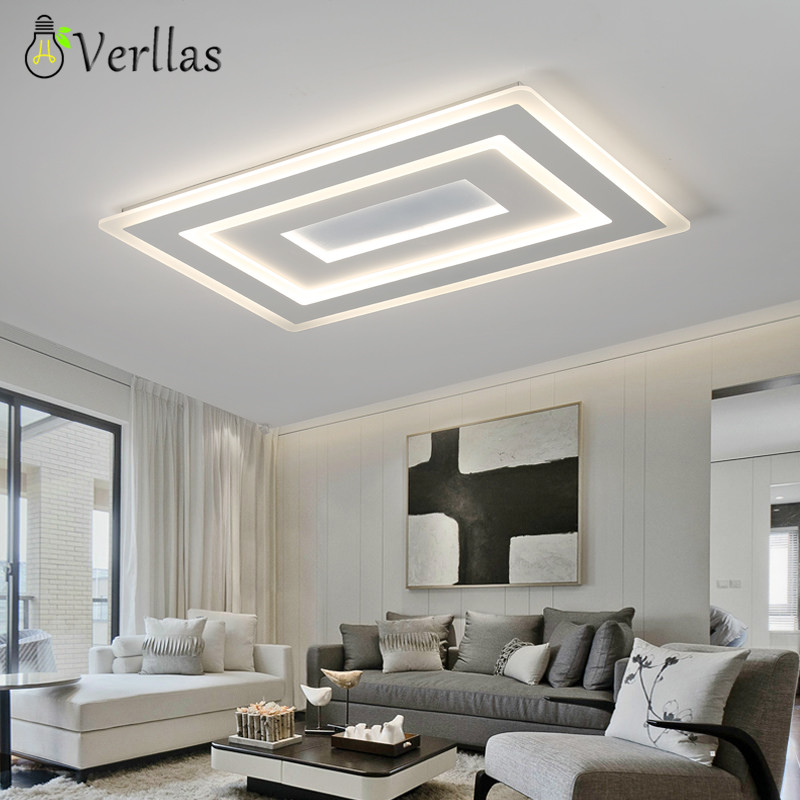 Luminaire Modern Led Ceiling Lights For Living Room Study Room Bedroom Home Dec AC85-265V lamparas de techo Ceiling Lamp dimming take two