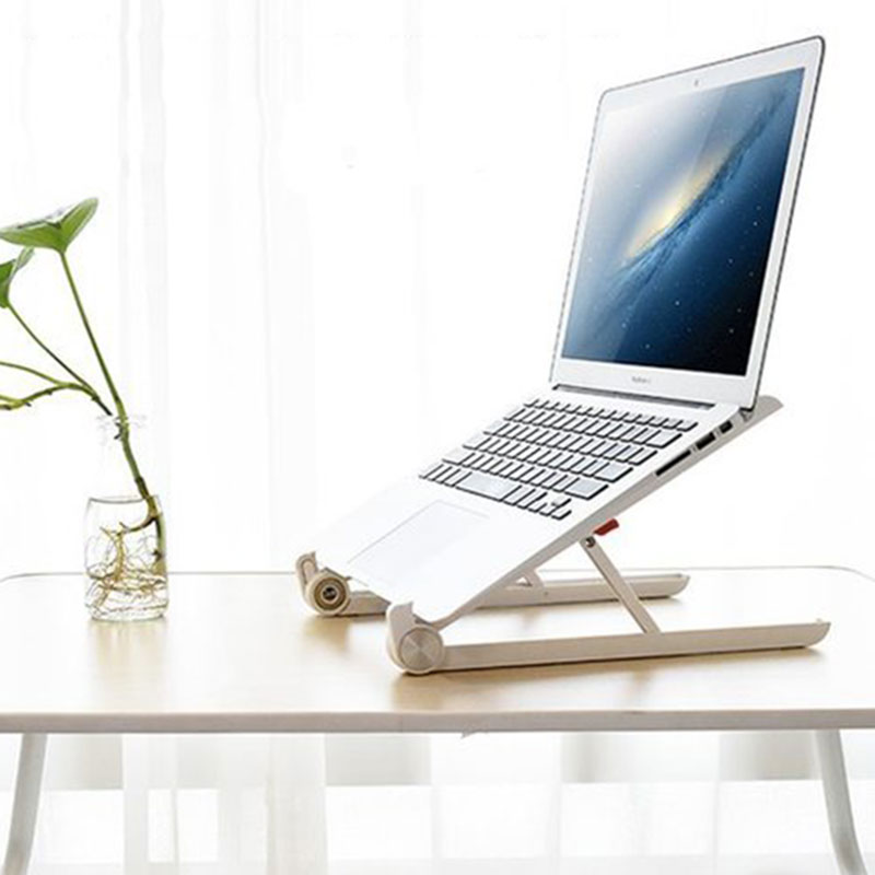 Billede af Adjustable Laptop Stand Lift Desktop Laptop Cooling Rack Folding Portable Laptop Holder Support For MacBook Notebook