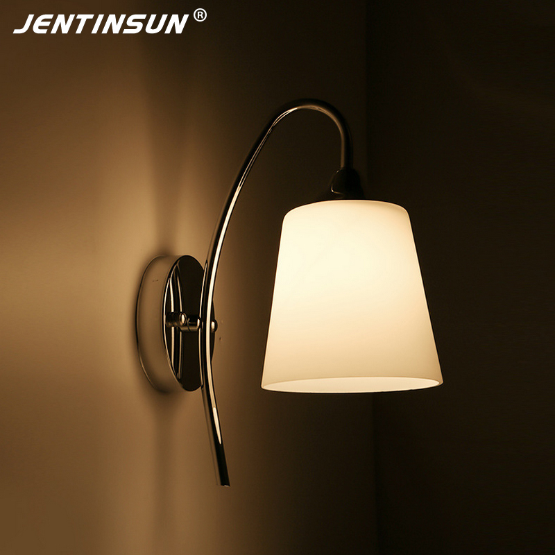 Modern Bedroom Bedside Wall Lamp E27 LED Creative Mounted Metal Light Sconce for Living Room Hallway Hotel Home Indoor Lighting modern wall lamp glass ball led wall sconces bedside wall light fixture bedroom luminaria home lighting vintage lamp