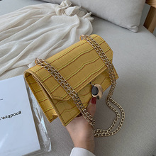 Female Crossbody Bags For Women 2019 Quality PU Leather Luxury Handbag Designer Sac Main Ladies Alligator Shoulder Messenger Bag