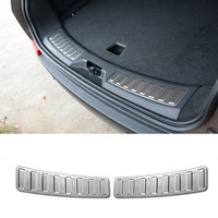 For Land Rover Discovery Sport 2015 2016 Stainless Steel Rear Bumper Guard Plate Trim Cover Accessories Car Styling