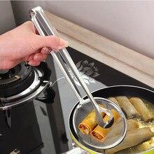 1 Uds de acero inoxidable Clips filtro comida Clip colador de malla colador cocina cuchara herramientas inofensivo