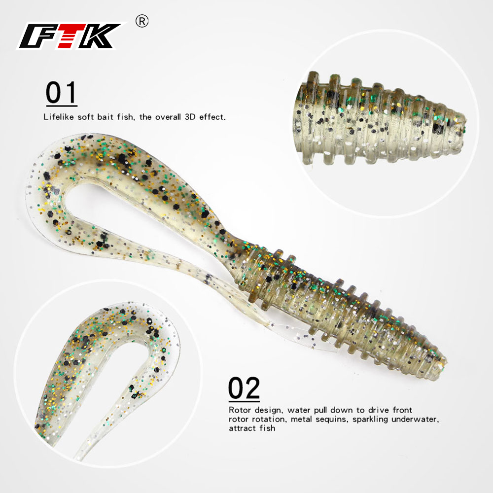 Soft Lures Easy Shiner 5cm 2.7g 5pcs/lot Swimbaits Artificial Soft Bait Fish Wobblers Carp Fishing Lures