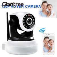 Giantree אלחוטי 720 P פאן הטיה אבטחת בית CCTV IR Night Vision Webcam WiFi אודי שתי בדרך