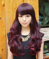 Free Hairnet Hot Selling 2015 Japan Korea Style Peruca Long Curly Synthetic Wigs For Women