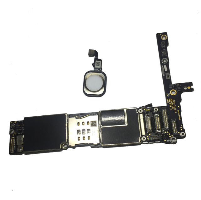16GB 64GB 128GB usine débloqué carte mère pour iphone 6 plus 6plus IOS carte mère originale avec/sans ID tactile