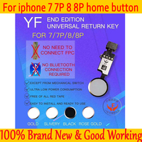 Tested Home Flex For Apple iPhone 7 8 Universal Home Button Flex Cable Return Home Function Solution For iPhone 7 8 Plus Home