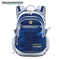 Transformers kids/children cartoon casual  school bag books shoulder backpack portfolio rucksack for boys student grade 2-6