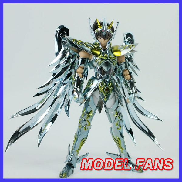 MODEL FANS INSTOCK GreatToys Great toys EX bronze Saint Pegasus Seiya V4 god cloth metal armor Myth Cloth Action Figure anime action figure saint seiya myth cloth nordic god fighter alkaid red meem metal armor collectible model