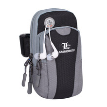 LEZAIJIONGTU Sport Bag Waterproof Operating Arm Bag Unisex For Sensible Cellphone Fitness center Bag Operating Bag Fanny Cellphone Pouch Operating Armband