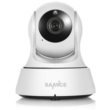 SANNCE Wifi IP Camera HD 720P Wireless 1MP Smart CCTV Security Camera P2P Network Baby Monitor Home Protection Mobile Remote Cam