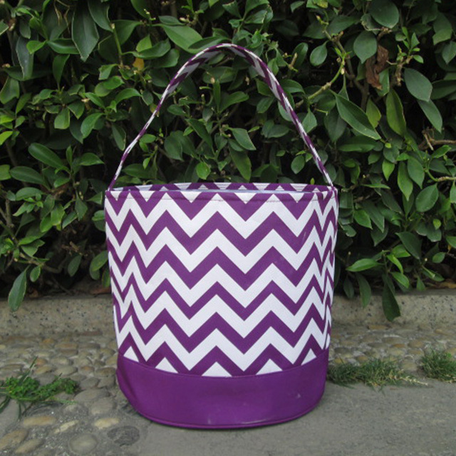 Wholesale chevron easter bucket chevron easter tote bag wholesale chevron easter bucket chevron easter tote bag monogrammable toy chevron easter basket for negle Gallery