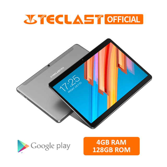 10.1 inch 1920*1200 Tablet PC Teclast M20 MT6797 X23 Deca Core Android 8.0 4GB RAM 128GB ROM Dual 4G Phone Tablets Dual Wifi GPS