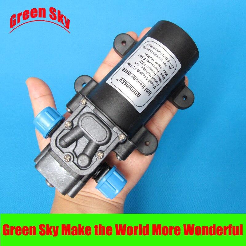 6L/MIN 70W DC High Flow OIL diesel pump 12v high quality 8l min 24v dc 80w food grade pump dc