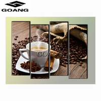 GOANG 5D Diy Diamond Painting Coffee Cup Pictures Of Rhinestones 5pcs Square Diamond Embroidery Cross Stitch