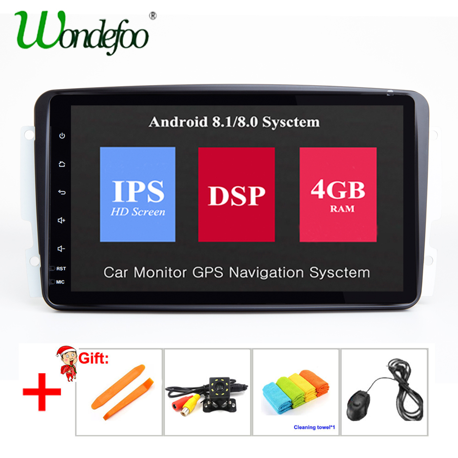 DSP IPS Car dvd player 2 Din Android GPS multimedia audio For Mercedes/Benz/CLK/W209/W203/W208/W463/Vaneo/Viano/Vito car radio