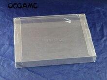 OCGAME clair transparent 8 bit NES boîte de jeu CIB jeux en plastique pour animaux de compagnie NES étui de protection boîtes de jeu de haute qualité 5 pièces/lot