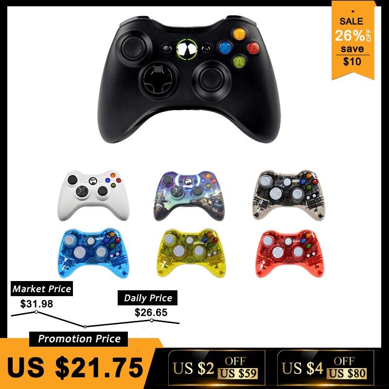 Manette sans fil Pour Microsoft Xbox 360 Ordinateur PC Gamepad Contrôleur Controle Mando Pour Xbox360 Joypad Joystick