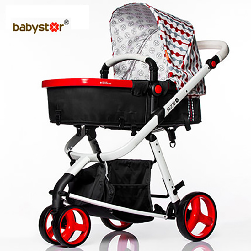 2016 New Arrival Baby Car High Landscape Light Folding Stroller Two-way High Quality Baby Stroller чехол acme made fillmore hard case 100 коричневый бирюза